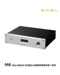 SMSL M6 32bit/384KHZ DAC x Headphone Amp